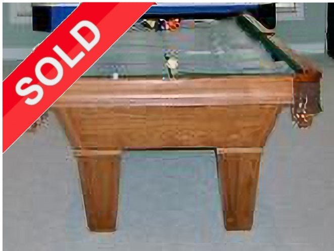 (SOLD) Used 8' Brunswick Brookstone Pool Table