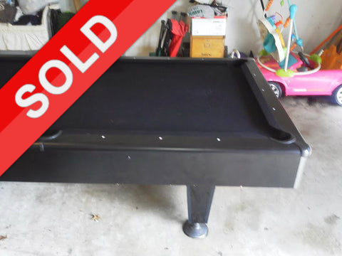 Used 8 ft. Kasson Vermillion Pool Table