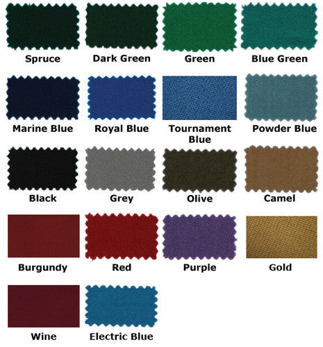 High Speed Worsted Wool Pool Table Billiards Cloth