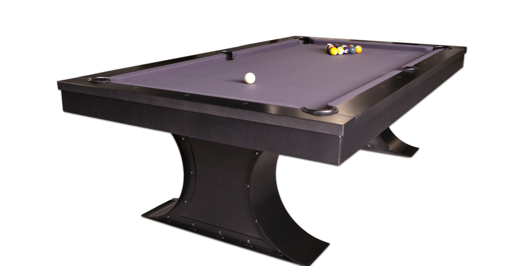 Plank & Hide Xane Pool Table - coolpooltables.com