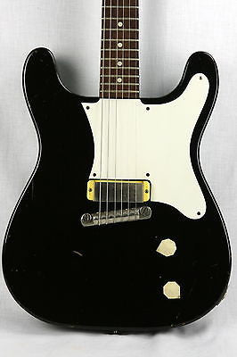 1959 Epiphone Coronet! Black, Slab-Body, New York Pickup! Gibson sg les paul