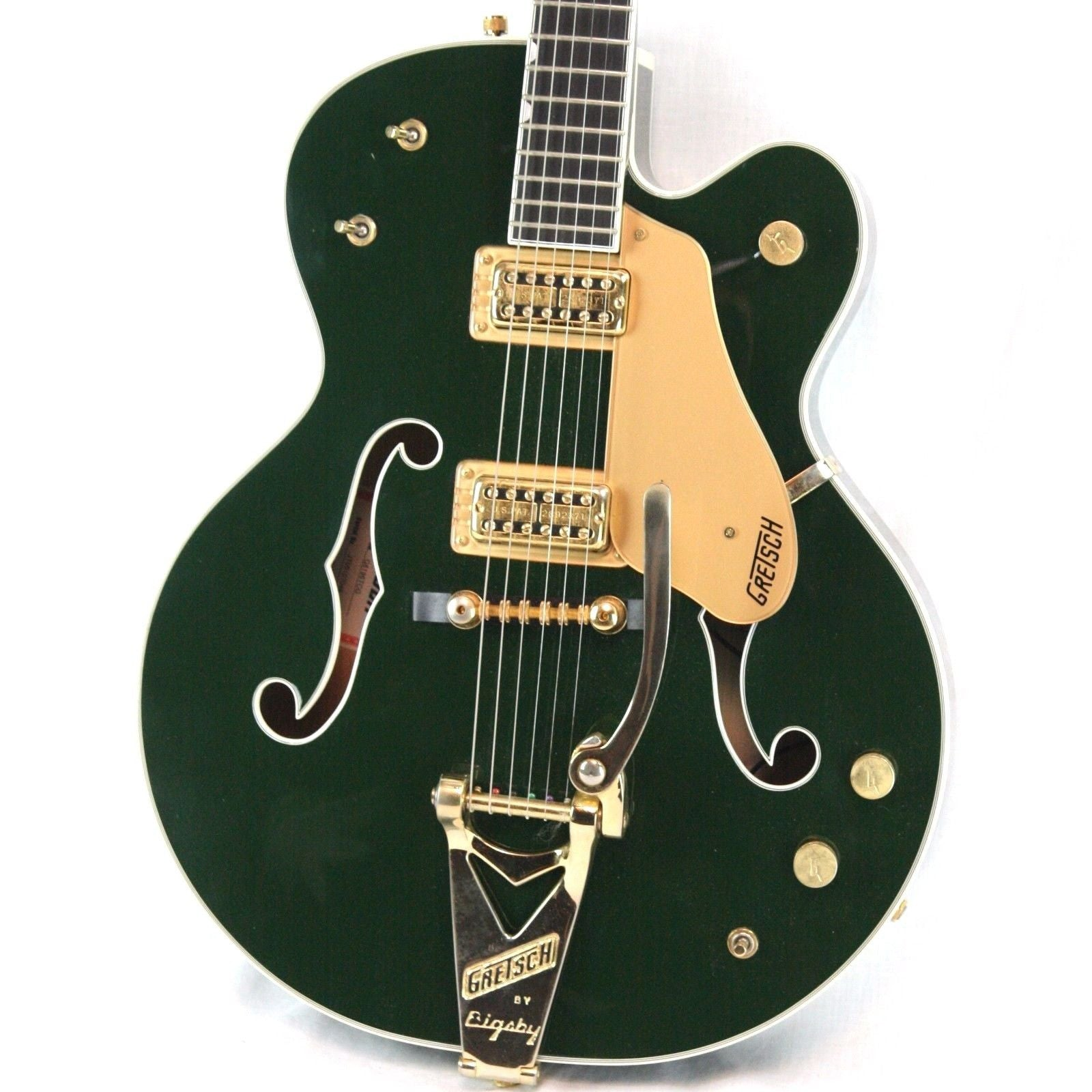 2005 Gretsch Country Club CADILLAC GREEN w/ OHSC G6196TCG 6196 Filertrons Bigsby