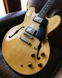 1987 Gibson Dot Reissue ES-335 NATURAL BLONDE Tim Shaw Pickups 1980's Vintage