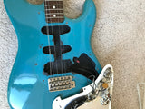 1981 Fender MAUI BLUE Stratocaster International Color Series Strat 1979 1970's 1980
