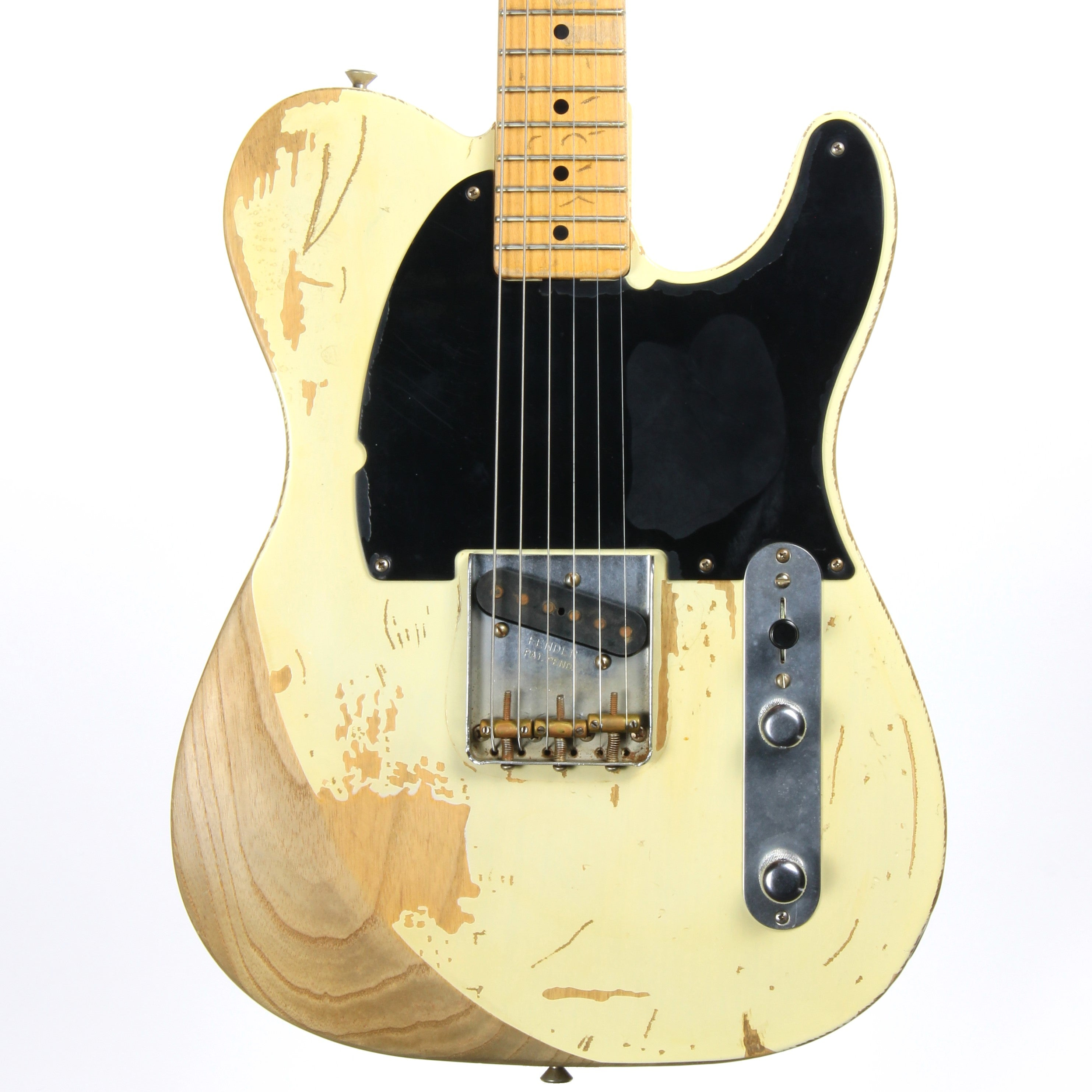 2006 Fender Custom Shop JOHN ENGLISH Masterbuilt JEFF BECK 1954 Esquire Relic Telecaster Blackguard