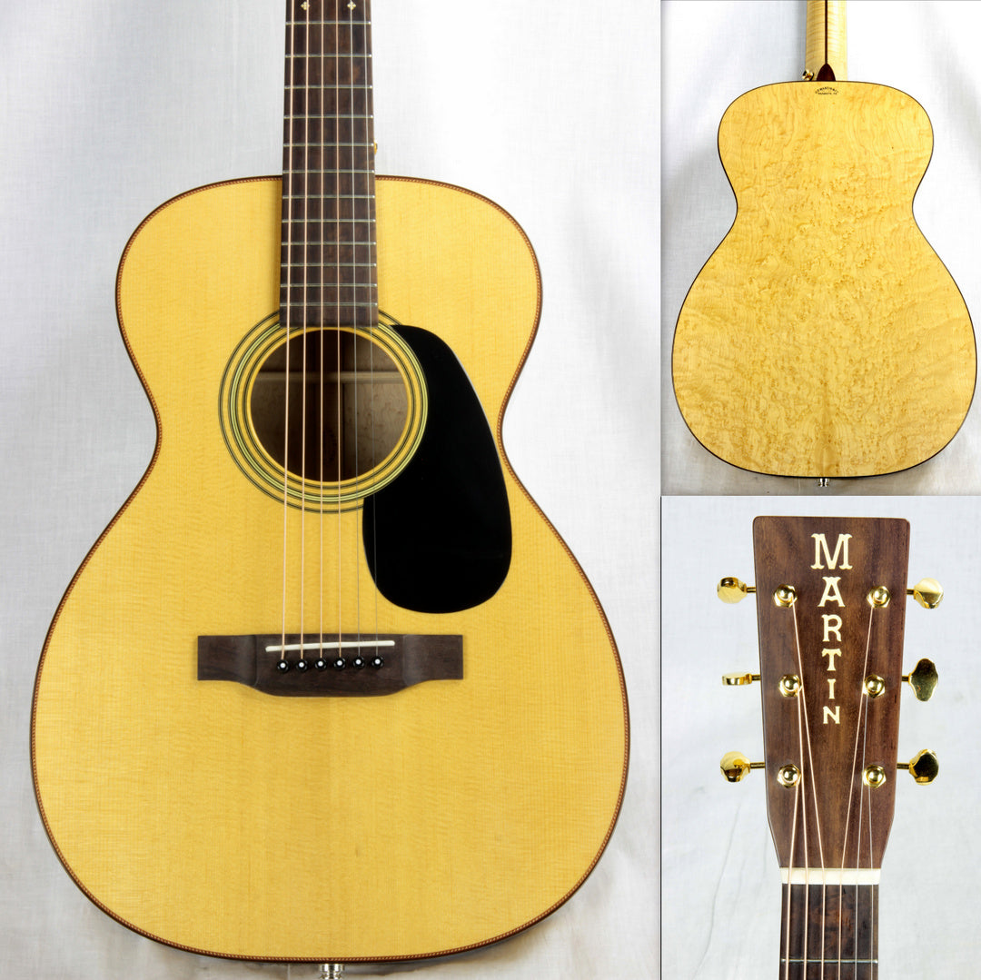 Martin Custom Shop Single O 0 BIRDSEYE MAPLE! Torrefied Spruce Flamed Maple Neck!