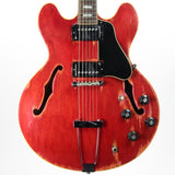 1969 Gibson ES-335 TDC Cherry Red - Vintage Player-Grade 1960's Semi-Hollow Body