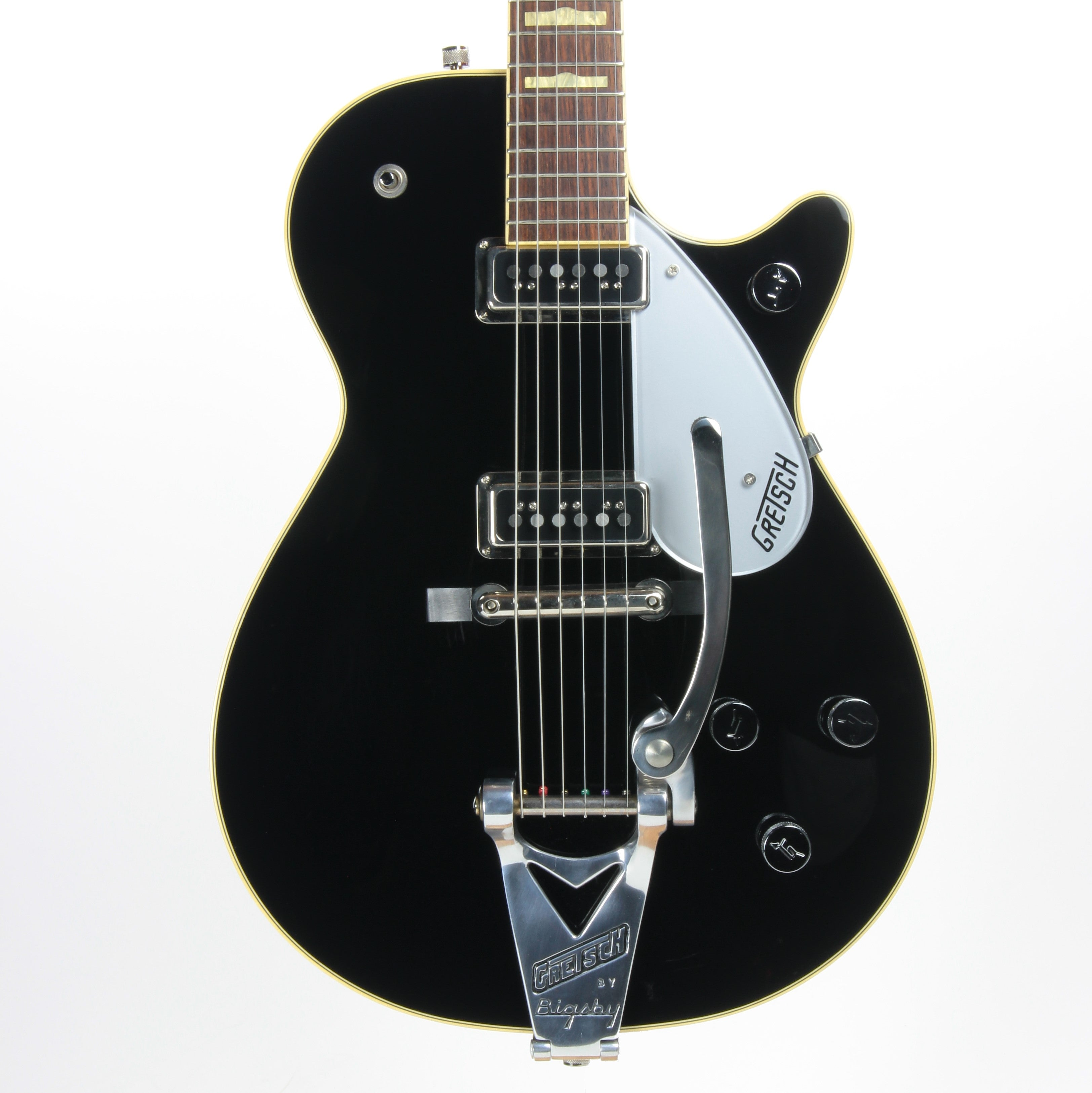 2006 Gretsch Duo Jet G6128TDS Black 6128 - DynaSonics, George Harrison Specs!