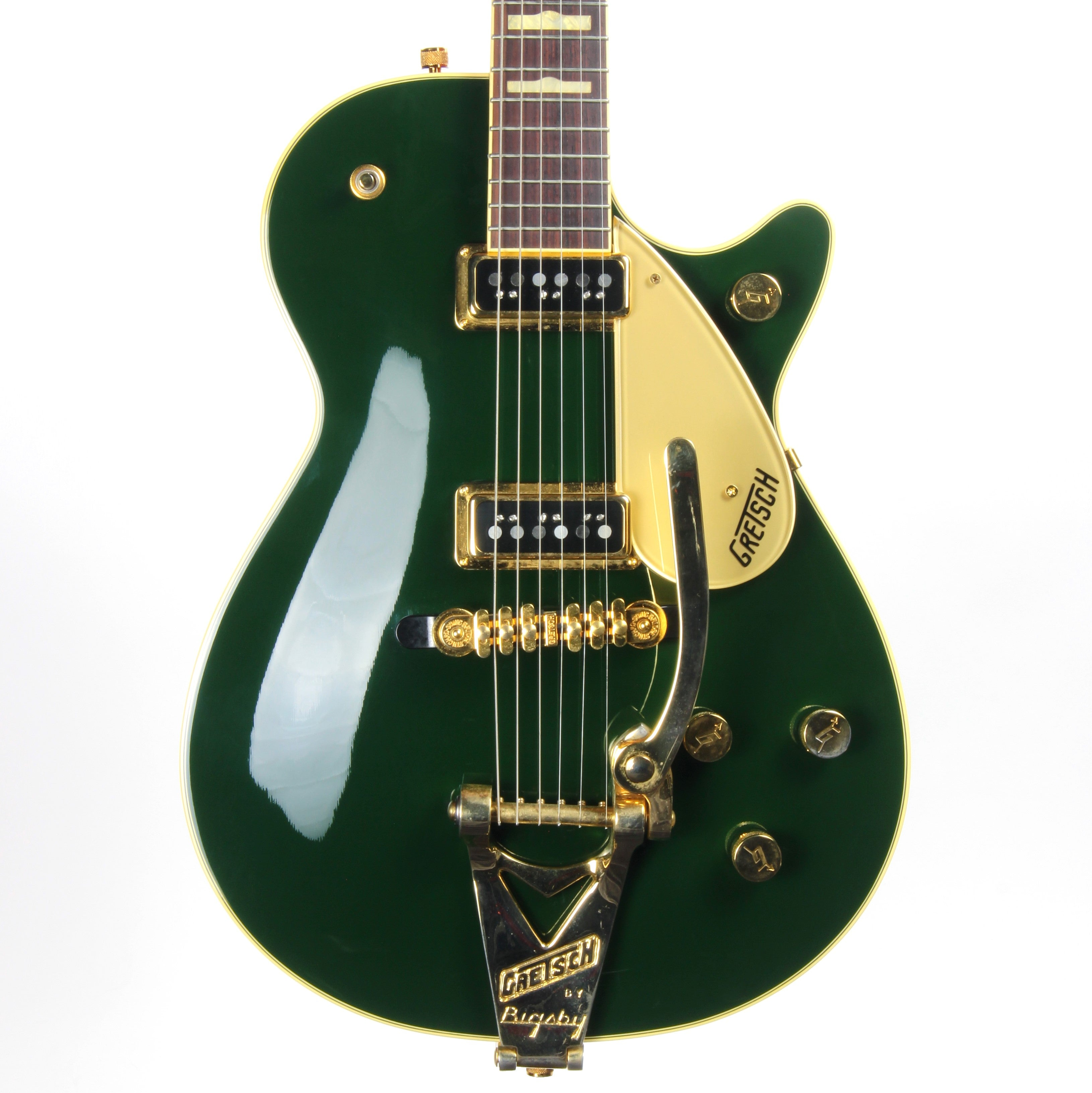Gretsch Duo Jet G6128TCG Cadillac Green - Bigsby, Dynasonic Pickups, 6128, Made in Japan