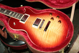 2018 Gibson Les Paul Standard AAA Flametop plus OHSC! Heritage Cherry Sunburst! figured