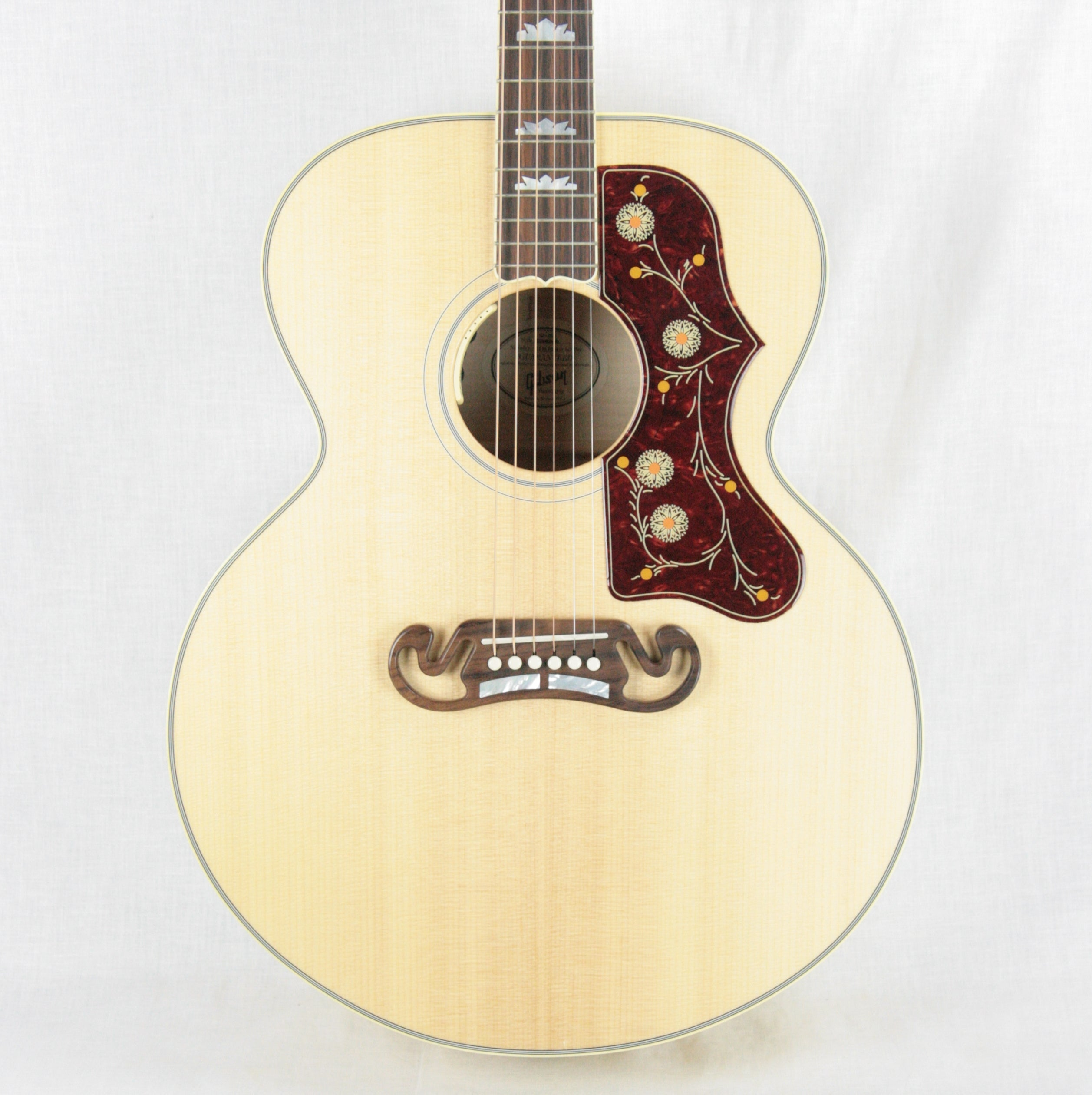 2017 Gibson SJ-200 Standard! Natural Acoustic Electric Guitar! AMAZING FLAME! j200 j45 aj