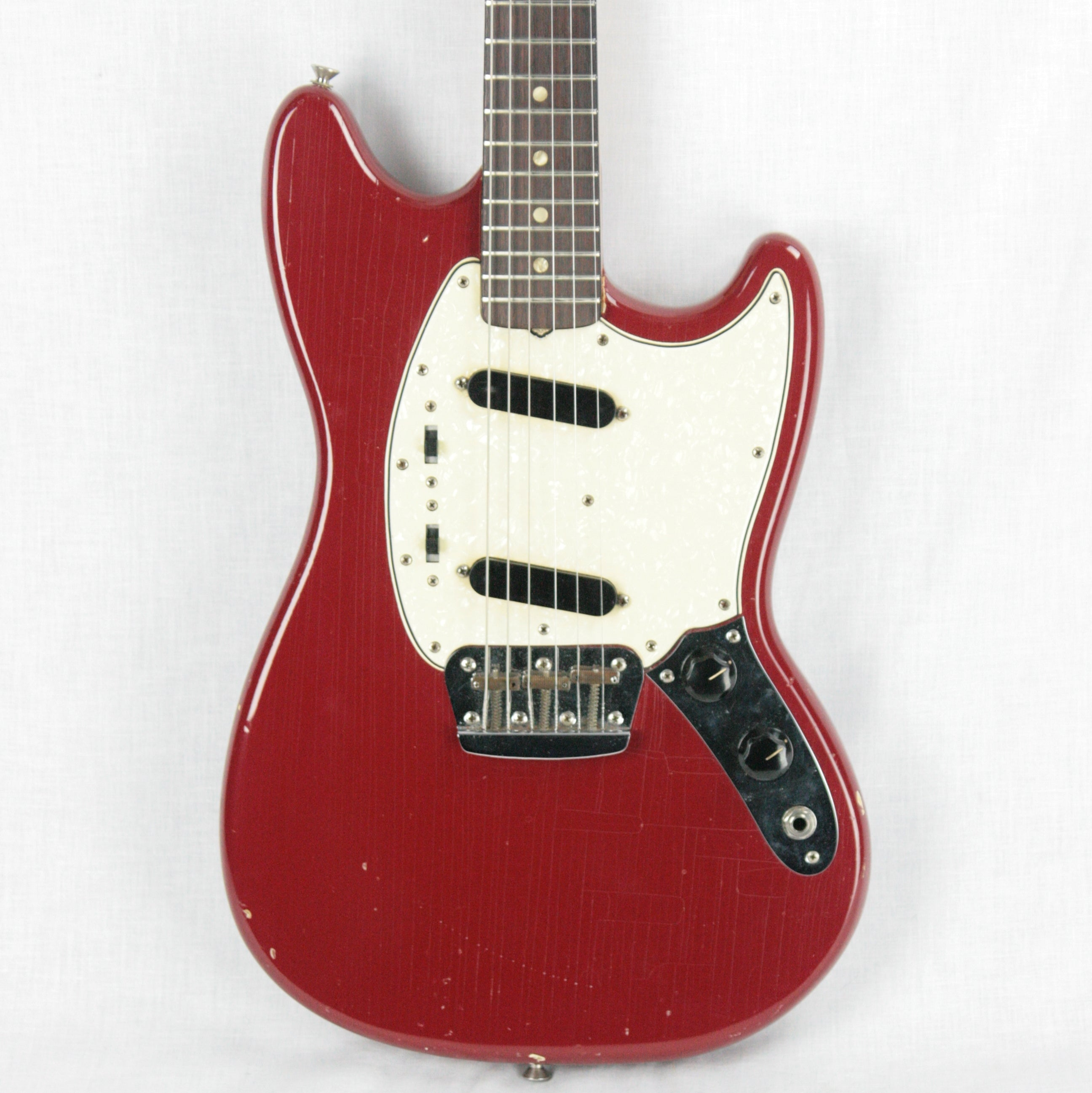 1966 Fender Duo Sonic II Dakota Red w/ OHSC! Offset Kurt Cobain Nirvana!