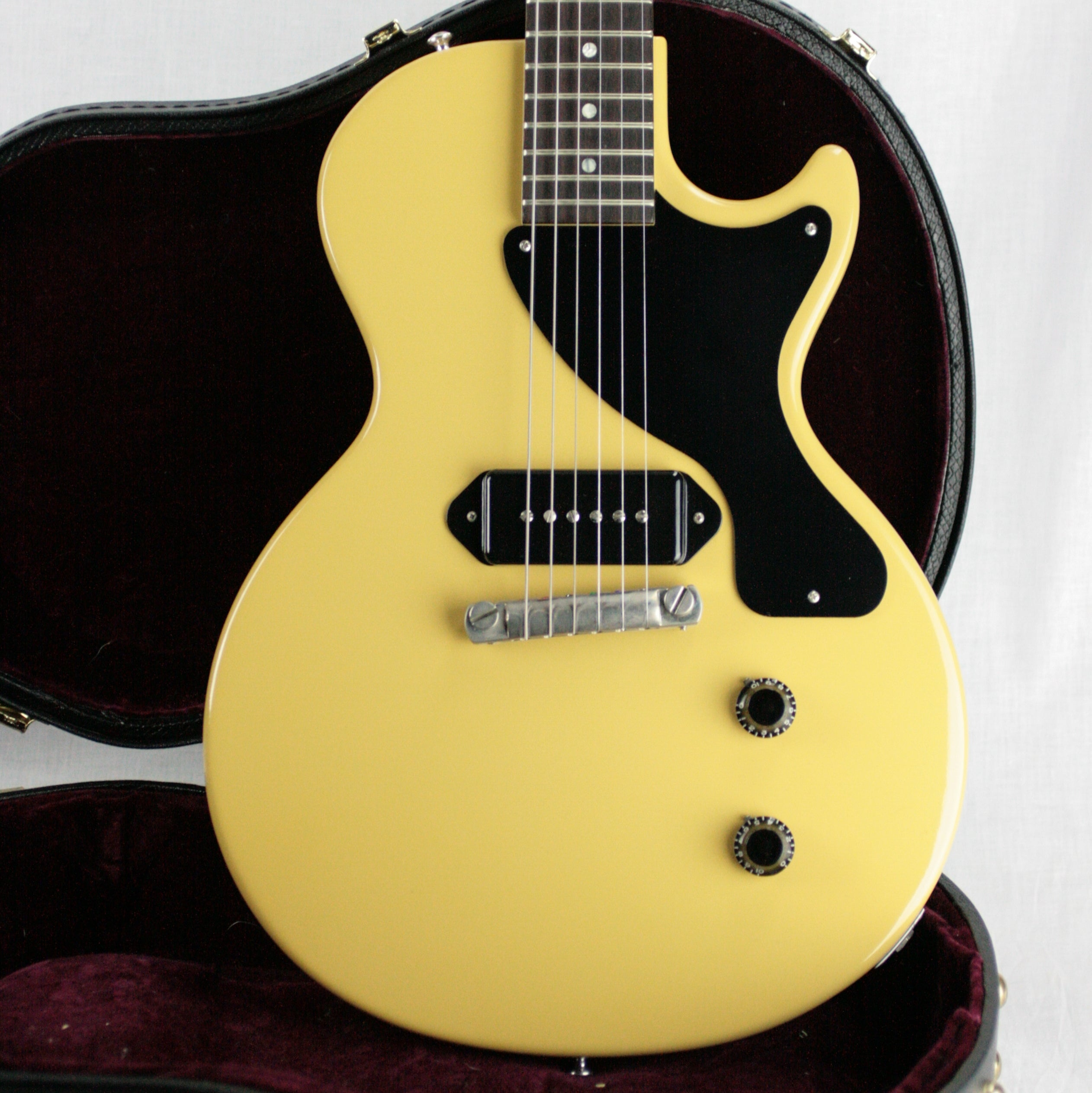 MINTY 2010 Gibson 57 Les Paul Jr. TV YELLOW Reissue! 1957 Junior Custom Shop Historic