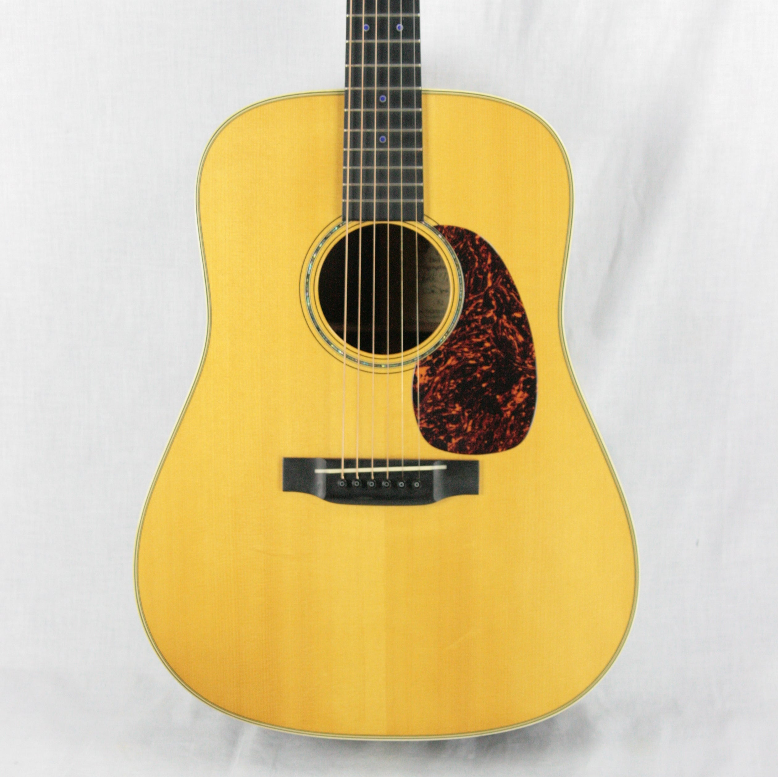 c. 2002 Martin D-28 DM Del McCoury Model! Adirondack Spruce V neck CANNON! Forward-Shifted