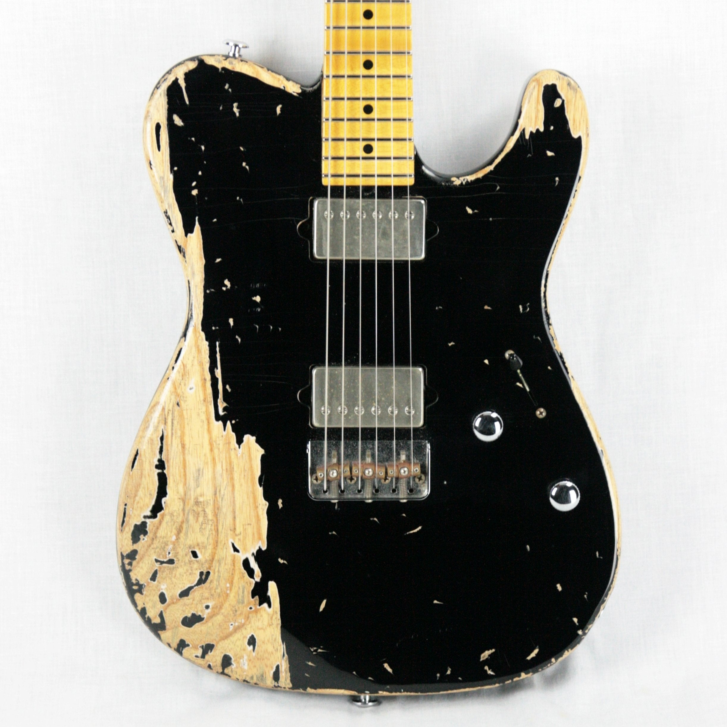 Suhr Classic T Antique Extra Heavy Aging Black Telecaster! Maple Neck Ash Body Humbucker Tele
