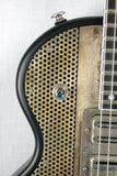 2012 James Trussart SteelTop Satin Black 3 TV JONES SUPERTRONS! Antique Silver Holey Top