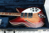 1994 Rickenbacker 370 WB VP! Fireglo Finish, Vintage Toaster Pickup Double Bound RARE MODEL!