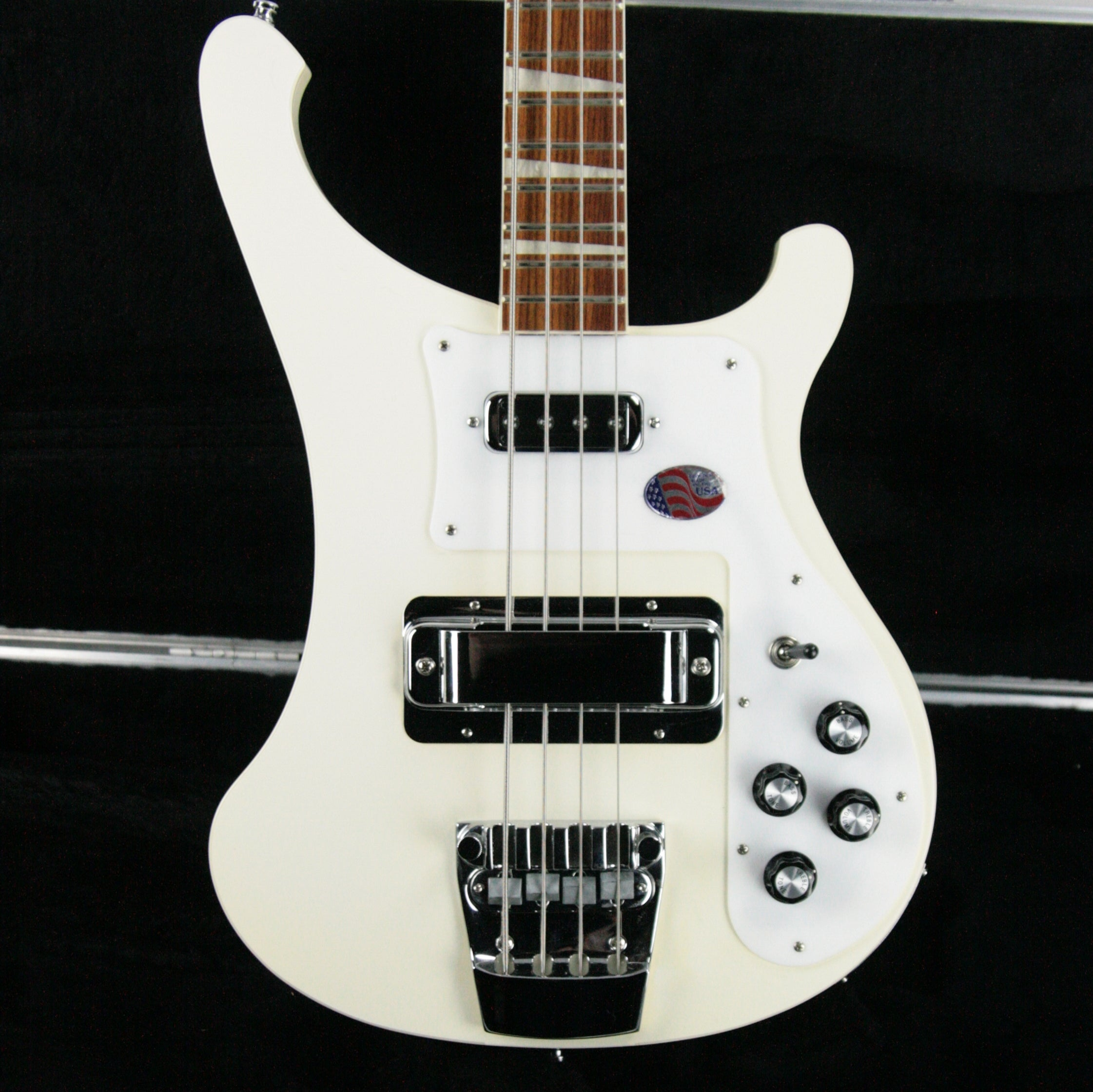 2013 Rickenbacker 4003 Snowglo White! Limited Edition Bass Guitar! EXTREMELY RARE COLOR