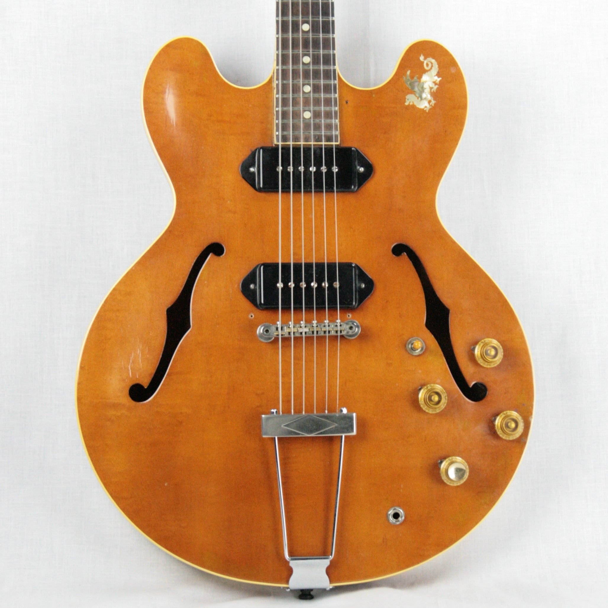 1959 Gibson ES-330 TD Thinline Electric Guitar Player-Grade! 2 P90's Sound Great! 225 335