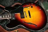 2017 Gibson ES-335 Slim Neck FIGURED Sunset Burst! Block inlays! Memphis Sunburst
