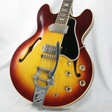 1965 Gibson ES-330 TD Nickel Parts Wide Nut BIGSBY! ICED TEA SUNBURST! es330 1964