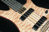 MINT 2003 Alembic Essence 5-String Bass Guitar! Beautiful Quilted Maple! europa