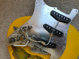 1981 Fender MONACO YELLOW Stratocaster International Color Series Strat 1979 1970's Hardtail