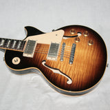 2015 Gibson Memphis ES Les Paul FIGURED Tobacco Sunburst! 1959 Neck! 50's 335