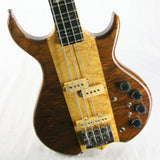 1980 Kramer DMZ 6000B Aluminum Neck Bass Guitar! Ebony board, Flamed Walnut, High-end specs! 650 B
