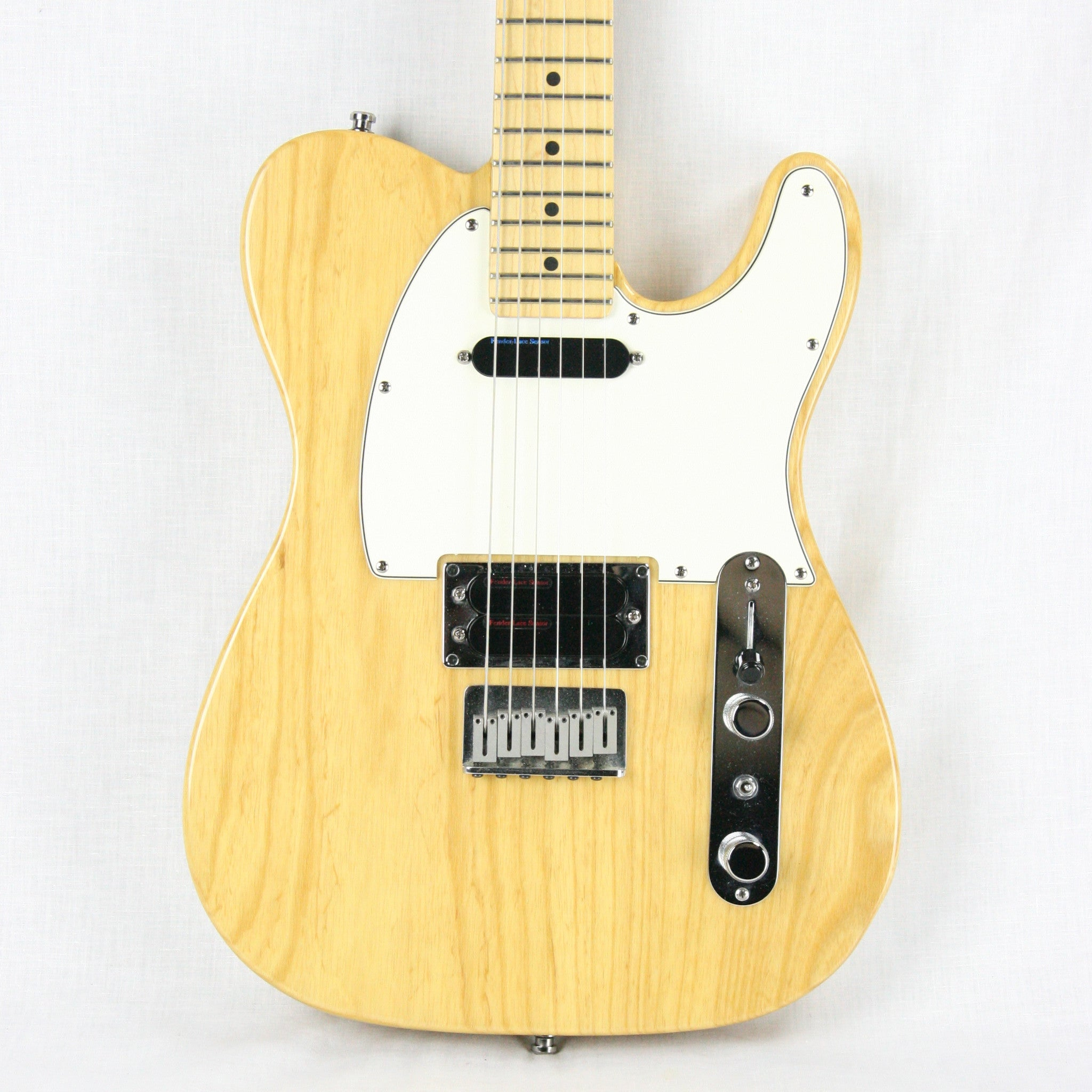 MINTY 1992 Fender USA Telecaster Plus Natural w/ OHSC! Version 1 V1 Lace Sensor American Tele! Jonny Greenwood Radiohead