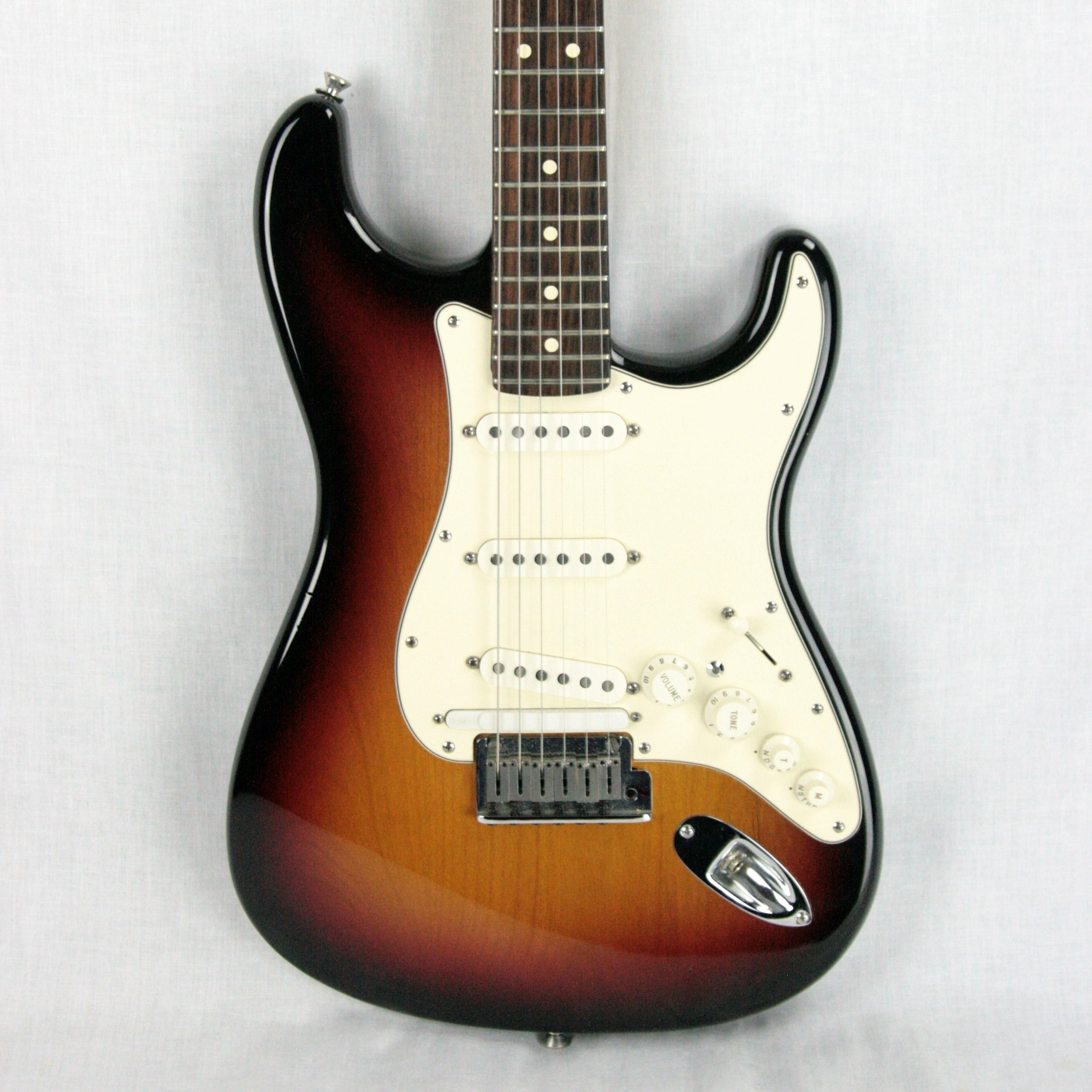 2006 Fender American VG Stratocaster Virtual Guitar Strat! USA Sunburst Rosewood Neck