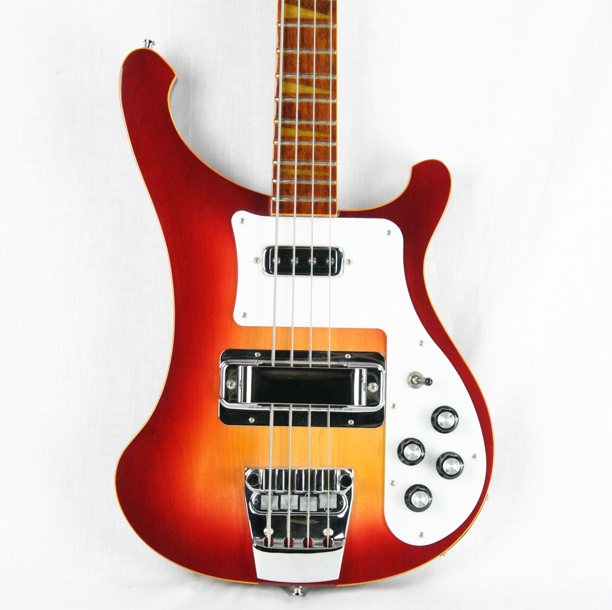 2007 Rickenbacker 4003 AFG Color of the Year Amber Fireglo Bass Guitar! Rare Limited Edition Color!