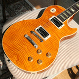1995 Gibson Les Paul Classic Plus Killer Flametop! Amber 1960 Reissue Standard Yamano! 60