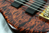 2002 Peavey USA Custom Shop CIRRUS 5-String Bass QUILT TOP Tiger Eye!