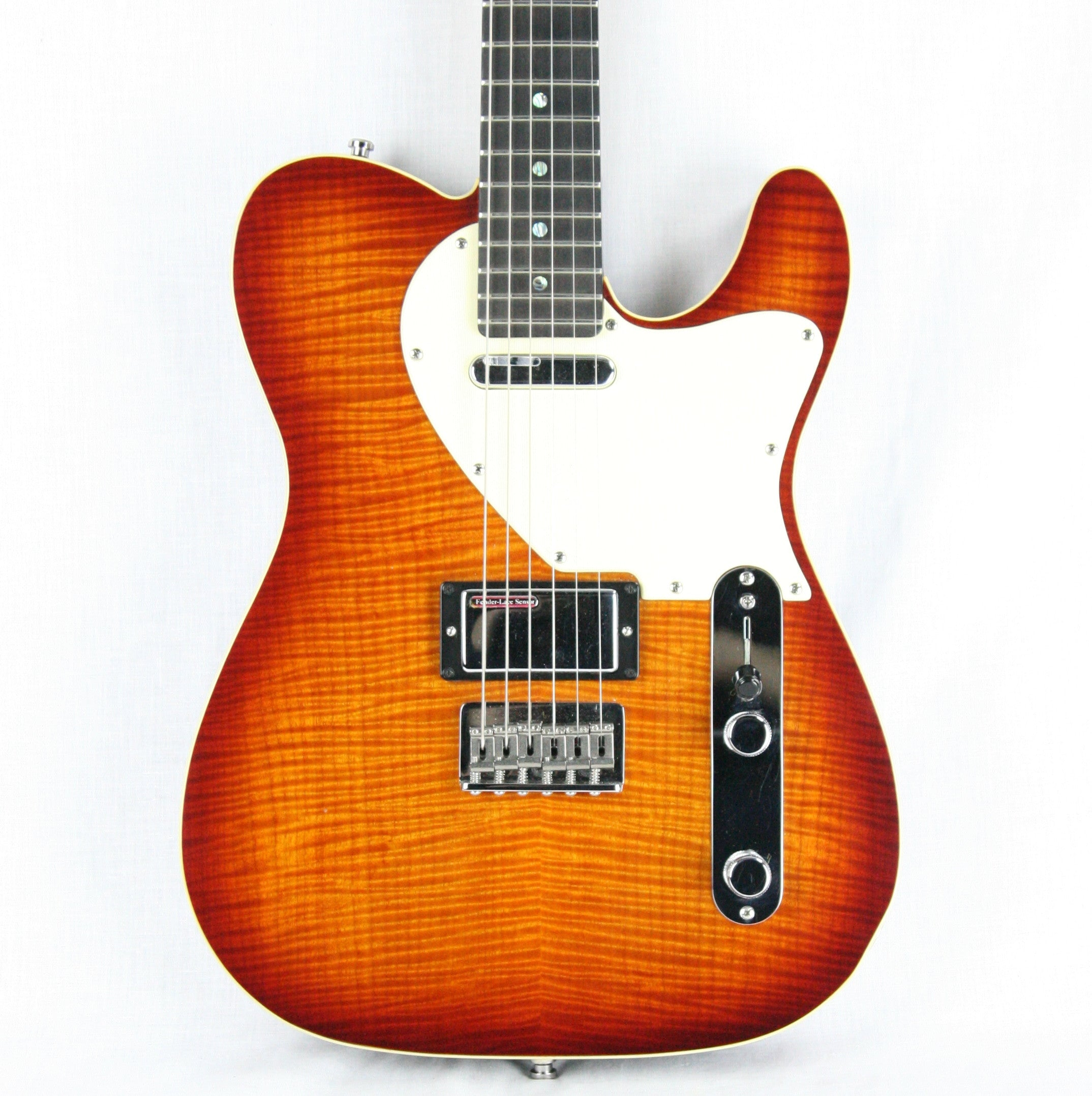 1994 Fender Masterbuilt JOHN ENGLISH Telecaster Custom Shop One-of-a-kind! Lace Sensors, Flametop, Birdseye Maple Neck!