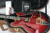 2017 Gibson ES-355 VOS in Cherry! BIGSBY, Gold Hdwr! Memphis 345 335