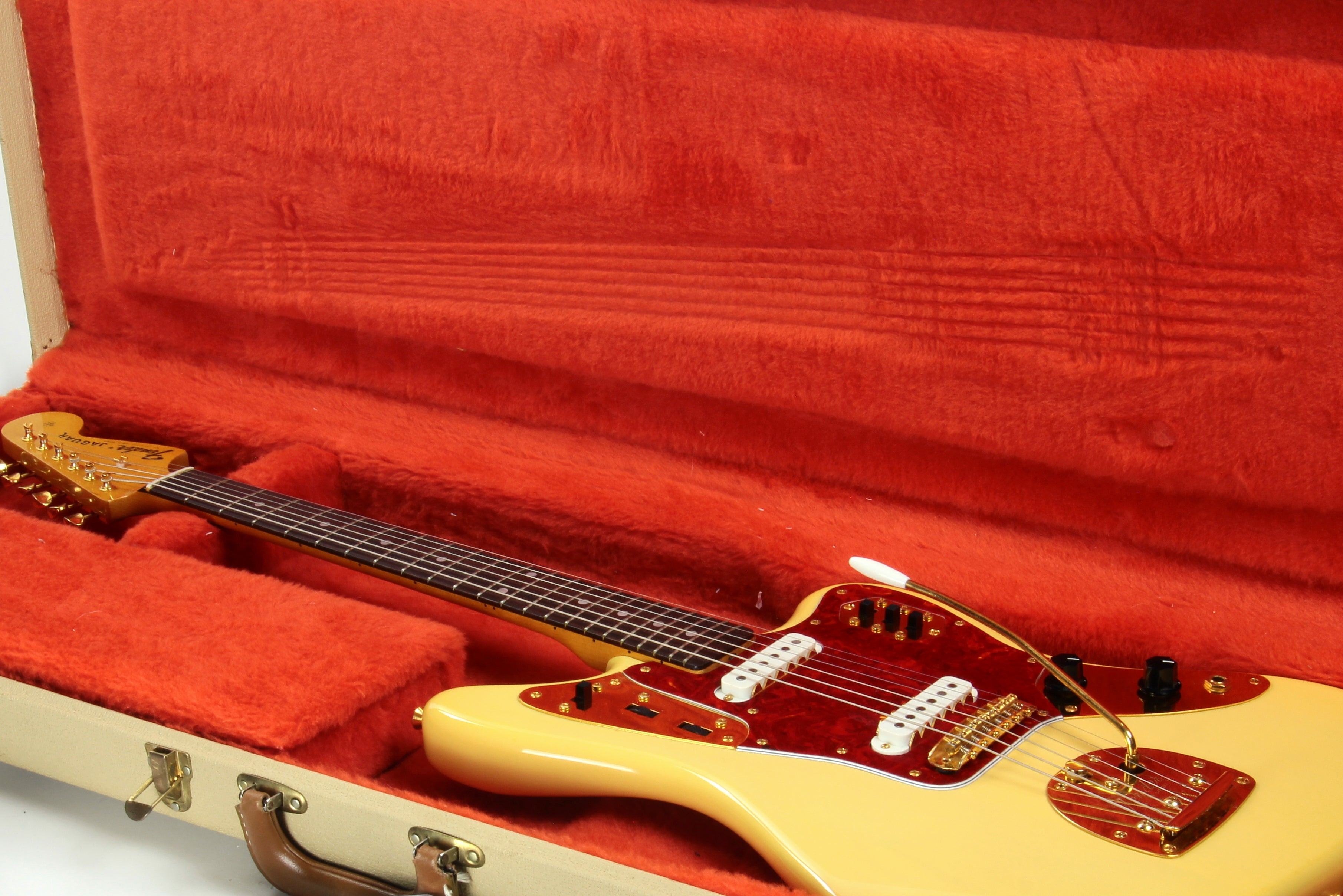 1994 Fender '62 Reissue Jaguar LE Mary Kaye Blonde - JG66-90G Special Edition Gold Hardware