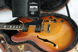 2017 Gibson ES-335 Faded Light Burst Plaintop! Block inlays! Memphis 345 355