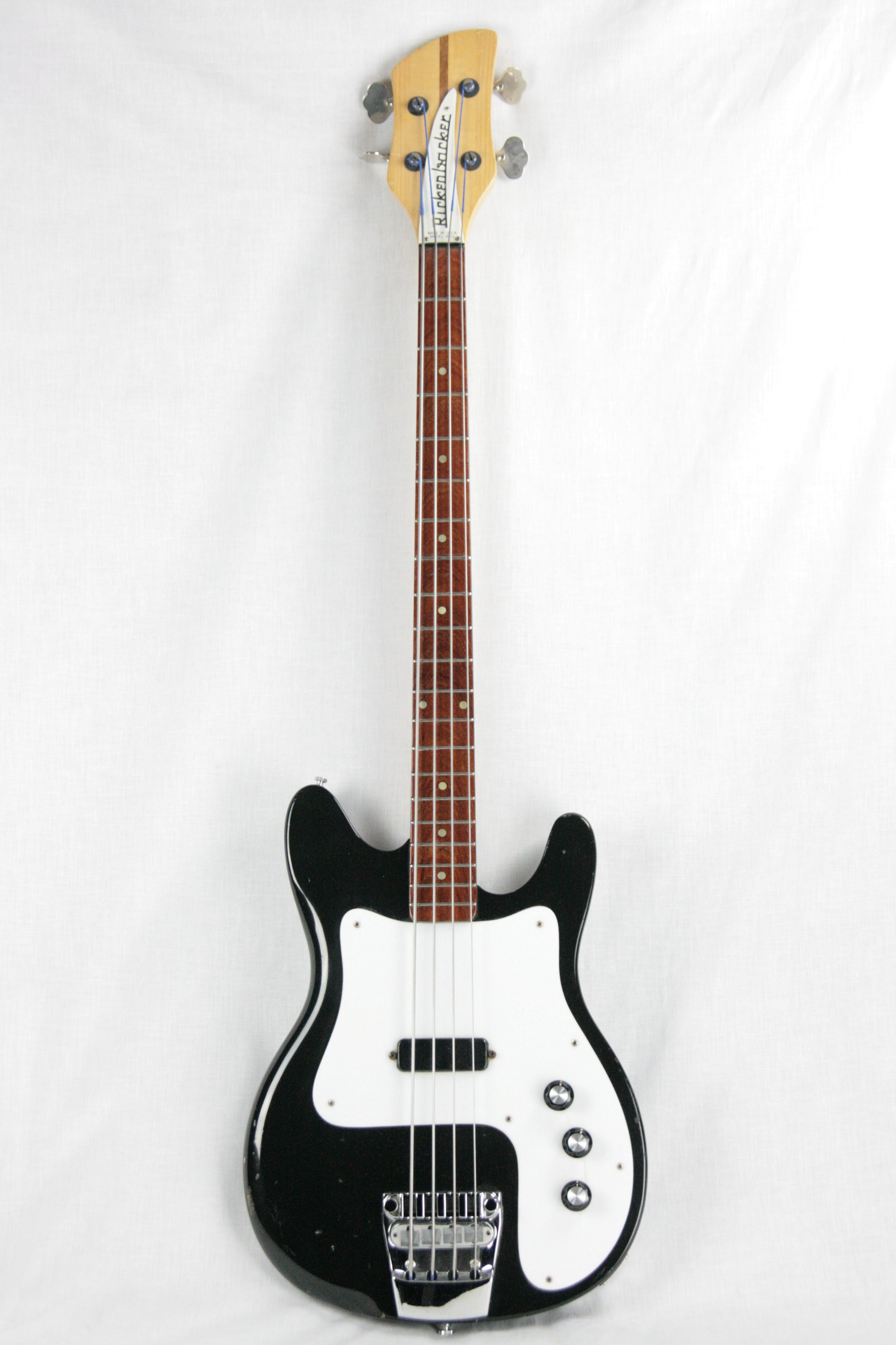 RARE 1976 Rickenbacker 3001 Bass in Jetglo! Vintage Ric Full Scale 3000 4001