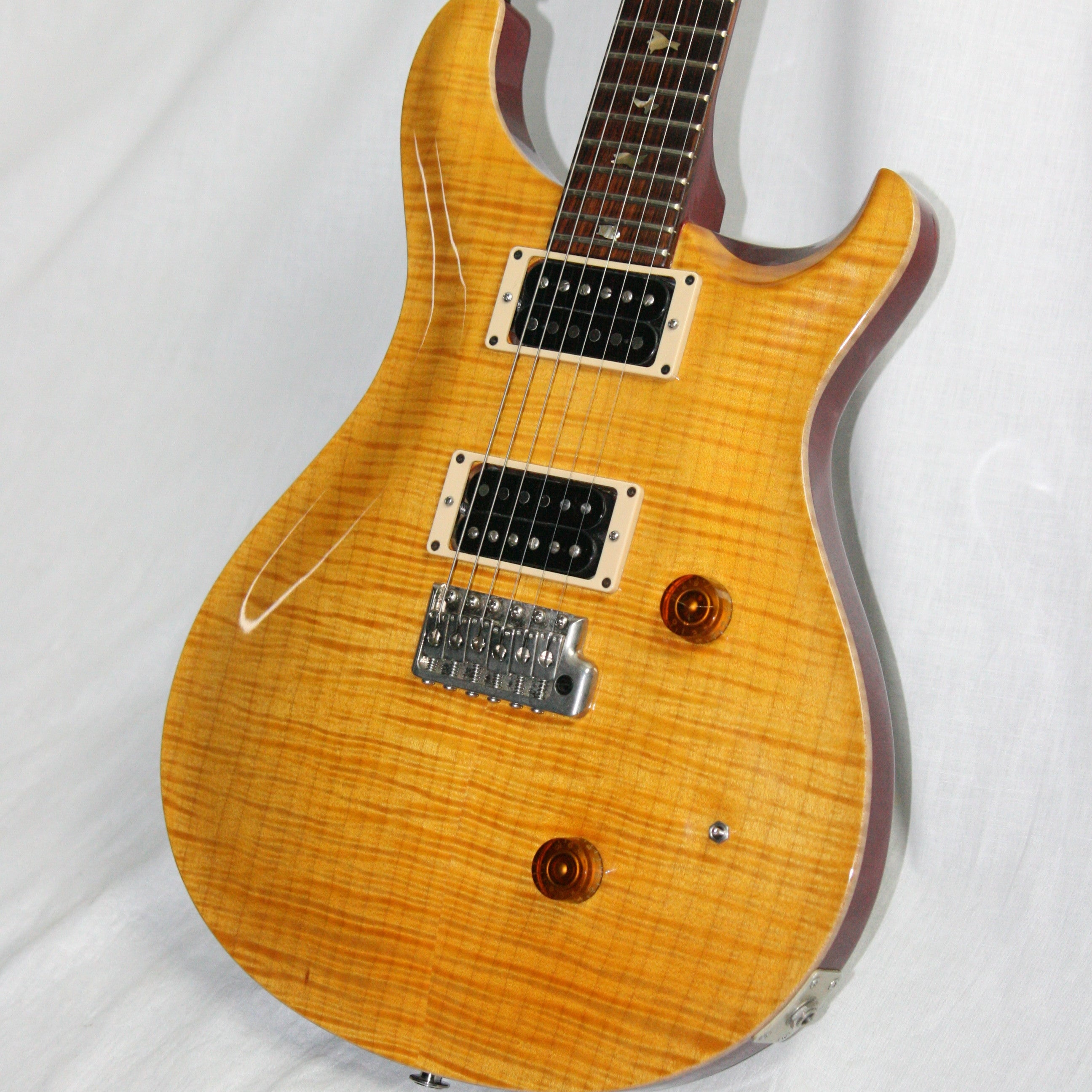 1989 PRS Custom 24 Vintage Yellow! Brazilian Rosewood 10 top! Paul Reed Smith Birds 1980's
