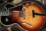 2017 Gibson ES-275 Montreux Burst Les Paul Custom Inlays! Jazz Archtop! 335 355