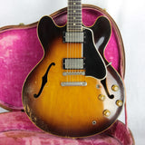 1958 Gibson ES-335 w/ OHSC! 100% Original Stop Tail PAF's 1959 Specs Bound Neck