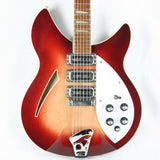 1994 Rickenbacker 370 WB VP! Fireglo Finish, Vintage Toaster Pickup Double Bound RARE MODEL! 3 pickup 360
