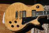 1979 Gibson 25/50 Anniversary Les Paul Custom Natural! AMAZING FLAMETOP! One of the Best Tops!
