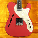 2019 Fender LIMITED EDITION American Telecaster Thinline USA Two-Tone Tele Fiesta Red Custom Shop Nocaster Pups!