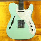 2019 Fender LIMITED EDITION American Telecaster Thinline USA Two-Tone Tele Seafoam Green Custom Shop Nocaster Pups!