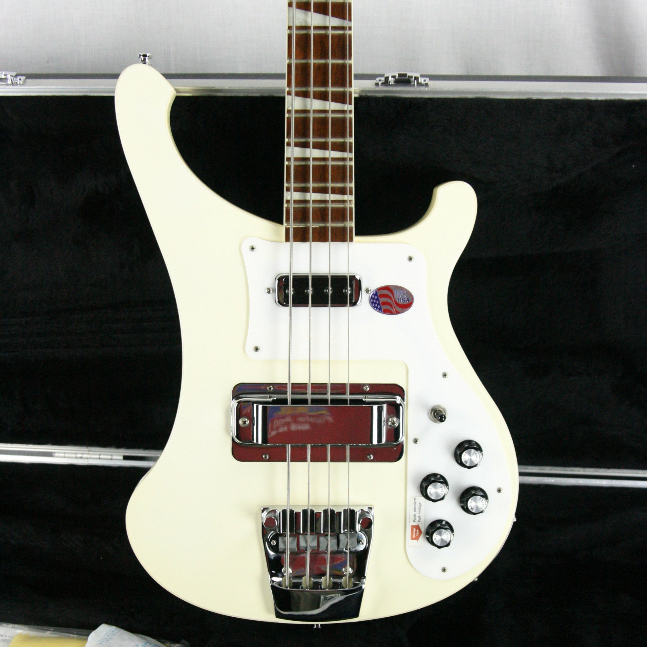 2014 Rickenbacker 4003 Snowglo White! Limited Edition Bass Guitar! Rare Color