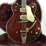 1964 Gretsch 6122 Chet Atkins Country Gentleman Walnut George Harrison Model! No Binding Issues!