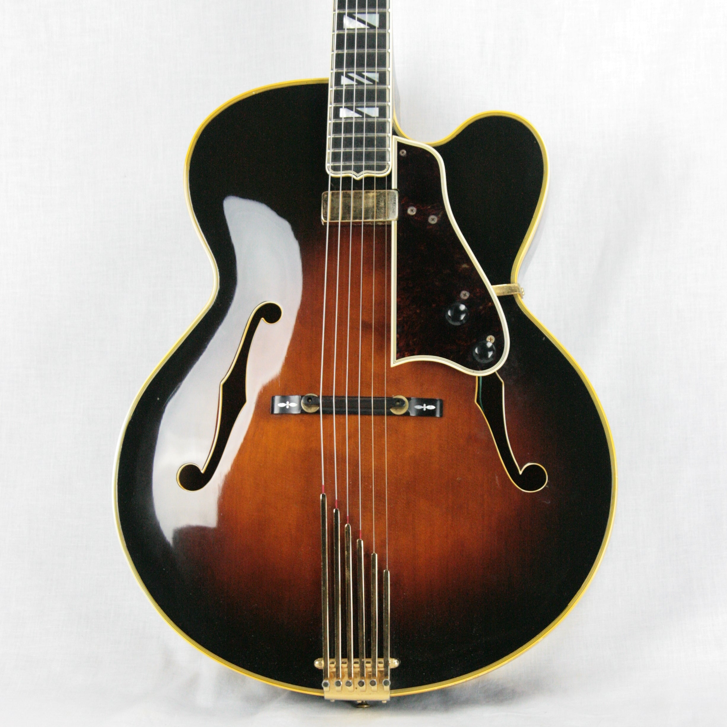 1979 Gibson Super V BJB Archtop Electric Guitar! L-5 400 Johnny Smith Floating Pickup