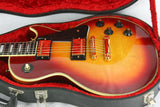 1974 Gibson Les Paul Custom Sunburst CLEAN! w/ OHSC! Waffle Tuners, PAT Number Pickups!